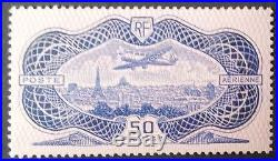 No. YT 15, Burelé, Poste Aérienne, Signé Calves, Neuf, TB, cote 1500