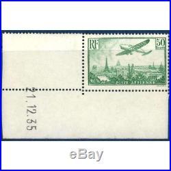 Pa N°14 Avion Survolant Paris Timbre Neuf 1936