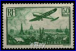 Poste Aérienne 14 AVION Vert 50f, Neuf = Cote 1.100 / Lot Timbre France