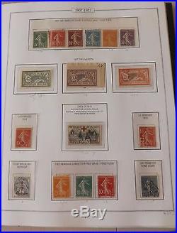 RARE album AV 1849/1959 //o avec PA voir scan 104 pages cote timbre + 10000