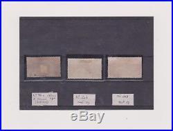 RARISSIME MERSON N°182 a E tronqué BORFAUX oblitéré + N°207 & 208 Neufs SG
