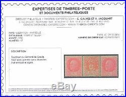 Résistance Libération 1943 Triptyque Générale de Gaulle Certif CALVES Mayer 19