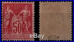 SAGE 104 signé, Neuf gommé = Cote 563 / Lot Classique France