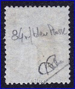 SAGE N° 84 1c. TYPE IIA NOIR SUR BLEU DE PRUSSE OBLITERE CAD 1884 TB