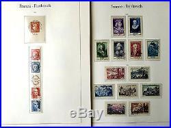 SEHR GUT BESTÜCKTE Sammlung Frankreich Gestempelt 1945 1999 in 2 Bänden