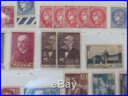 STOCK FRANCE 1900 à 1969 NEUF/ ENORME COTE VOIR DESCRIPTIF ET SCANS