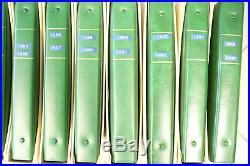 SUPERBE COLLECTION 1er JOUR DE 1959 à 1996 -18 ALBUMS- cote 2011= 8800 euros