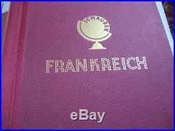 Sammlung Schaubek Album FRANKRECH 1849 1965 überw. Gest, etwas, wenig