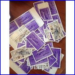 Sous Faciale 100 timbres à 30,00 francs soit 457 euro