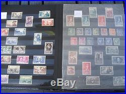 TIMBRES DE FRANCE 14 ANNEES COMPLETES NEUVES++ et NEUVES+(1937 à 1950)