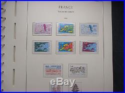 TIMBRES DE FRANCE UN LOT DE 6 albums. Neufs et oblitérés. De 1900 a 1997