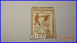 Timbre Monnaie Encased Postage Pochette Bichara Parfumeur Semeuse 15 C Rare
