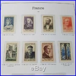 Timbres De France Collection Complete 1947-1964 Neufs, Album Yvert Et Tellier