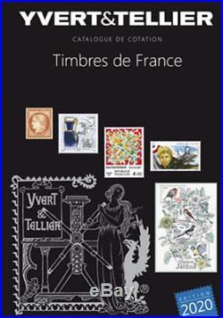 Timbres de France Catalogue de cotation 1849 à 2020 Yvert et Tellier