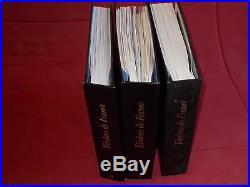 Un lot de 3 albums de FRANCE avec toutes les pages de 1849 à 2013