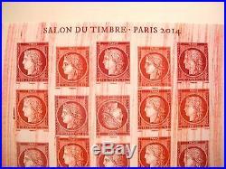 Timbres france for Salon du timbre 2017