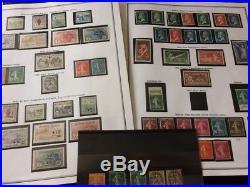 VENTE ÉTÉ 2# LOT 522-4 collection timbres France orphelin 155 minéraline 2 pages