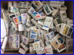 VENTE ÉTÉ 2# LOT 576 carton timbres FRANCE bottes bandes tableaux surtaxe 4,7kg