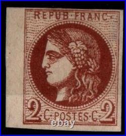 Variété CERES 40Bb, Neuf SG = Cote 1.200 / Lot Classique France Bordeaux