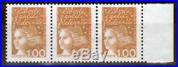 Variete N° Yvert 3089 Type Luquet Tres Rare Neufs Luxe