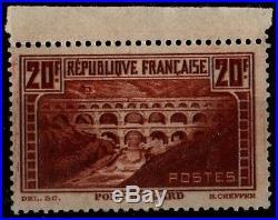 Variété du PONT du GARD 262c, Neuf = Cote 650 / Lot Timbre France