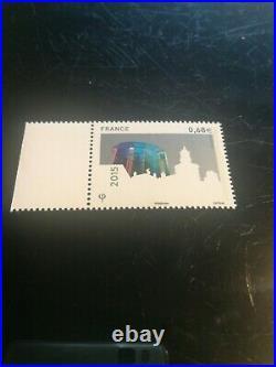 Variete exeptionnelle signe calves 4984 SAINT- GOBAIN sans taille douce