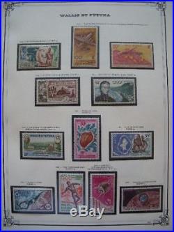 WALLIS ET FUTUNA COLLECTION TIMBRES NEUFS xx 1920-1981