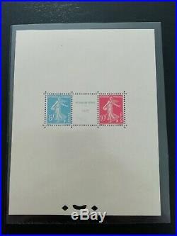 Y&T bloc 2, Expo Strasbourg 1927 NEUF cote 3500 certificat