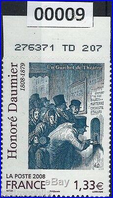 Y&T n° 224 Oeuvre de Honoré Daumier Adhésif / Autocollant de 2008 NEUF LUXE